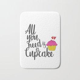 Cupcake Lover Bath Mat