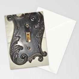 Fancy Light Plate Stationery Cards