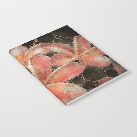 Percolated Tropical Flowers Notebook