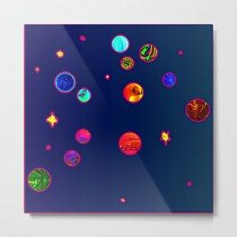 Constellations aquarian Metal Print