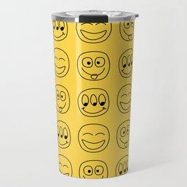 Smile Emoji Travel Mug
