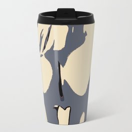 Abstract nude, woman body, sexy rear view, naked girl shapes, erotic, nsfw, adult art Travel Mug