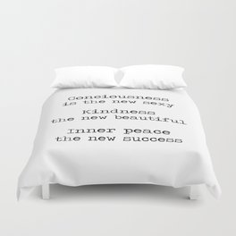 Redefining sexy, beautiful, successful. Duvet Cover