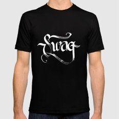 Swag Black MEDIUM Mens Fitted Tee