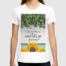 Far away (sunflower) T-shirt
