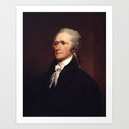 Alexander Hamilton by John Trumbull Art Print