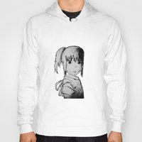 chihiro Hoodies featuring Remember Your Name (Chihiro) - Sketch by ScoDeluxe