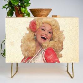 Dolly Parton - Watercolor Credenza