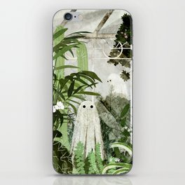 There's A Ghost in the Greenhouse Again iPhone Skin