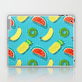 Pool Party pineapple, watermelon,banana,kiwi Laptop & iPad Skin