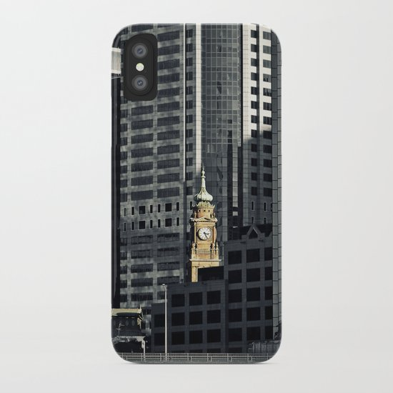 The time machine iPhone Case