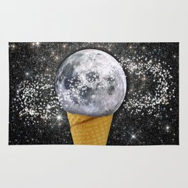 MOON ICE CREAM Rug