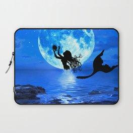 Moonlight Mermaid - Blue Laptop Sleeve