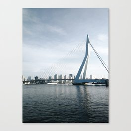 Erasmunbrug bridge Canvas Print