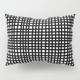 Black and White Gingham Pillow Sham
