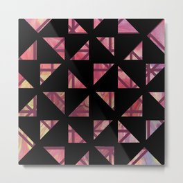 Geometric Shapes: Triangles 03 Metal Print