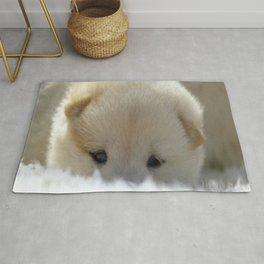 Shiba Inu Puppy Rug