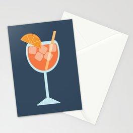 Spritz Orange Cocktail Stationery Cards