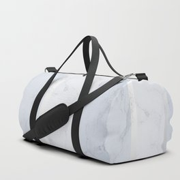 Marble Silver Duffle Bag