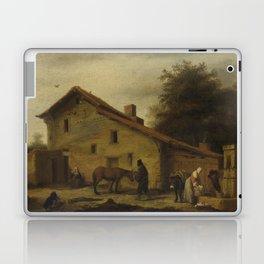 An Inn in the Neighborhood of Nantes, Lambert Doomer, 1640 - 1660 Laptop & iPad Skin