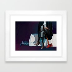 the guests Framed Art Print