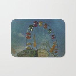 Textured Ferris Wheel Bath Mat