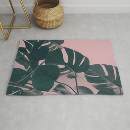 Romantic Monstera Rug