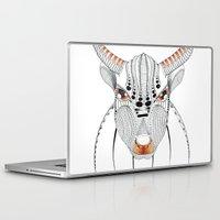 bull Laptop & iPad Skins featuring Bull by HandeAylan