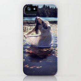 Lily-Pad Queen iPhone Case