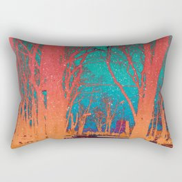 Sanctity in the Trees Rectangular Pillow