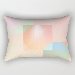 Circles and Squares Rectangular Pillow