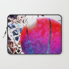Basketball art print life 5b Laptop Sleeve