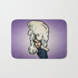 Marshmallow Hair Bath Mat