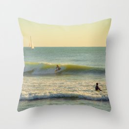 La Vague Throw Pillow