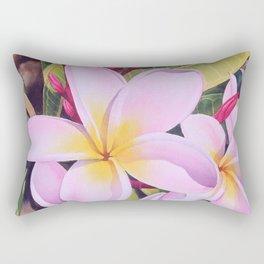 Hawaiian Plumerias Rectangular Pillow