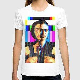FRIDA KAHLO BROKEN COLUMN IN COLOUR T-shirt