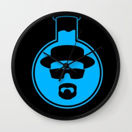 Heisenberg Blue Wall Clock