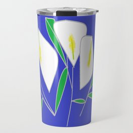 A bunch of Calla Lilies Travel Mug