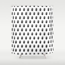 Doodle Pattern No.32 Shower Curtain