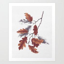 Autumn Study Art Print