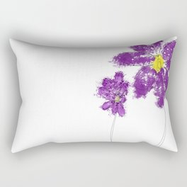 Flowers 2070 Rectangular Pillow