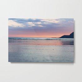Fairy Floss Sunset Metal Print