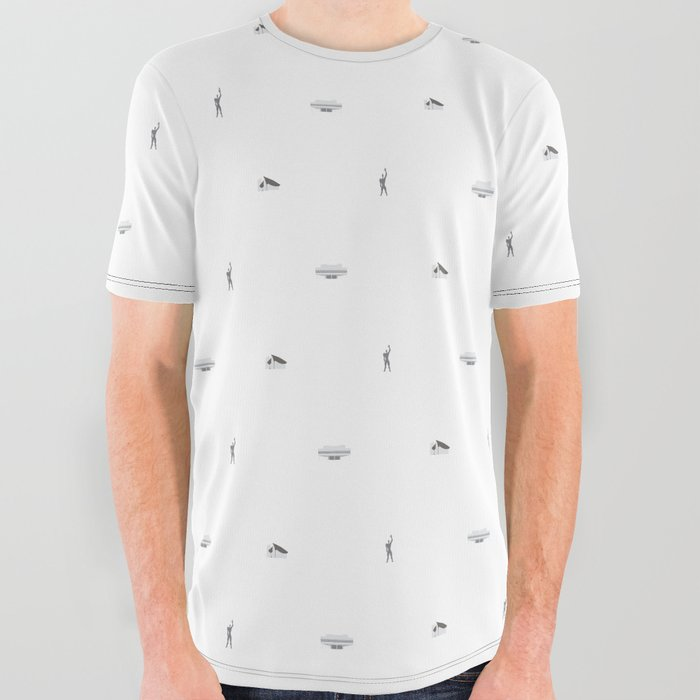 Le Corbusier: Collection All Over Graphic Tee