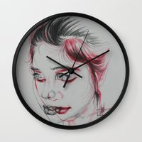 vertigo Wall Clocks featuring Vertigo by thomashanandry