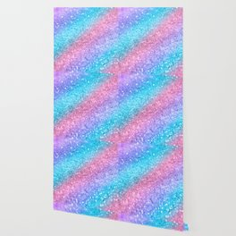 Rainbow Princess Glitter #2 #shiny #decor #art #society6 Wallpaper