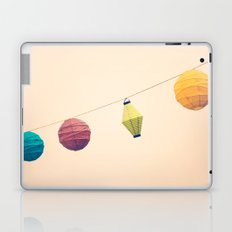 Paper Lanterns Laptop & iPad Skin