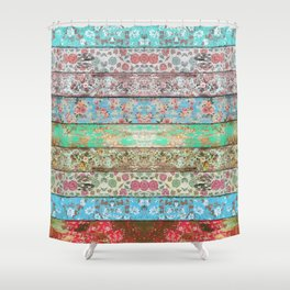 Rococo Style Shower Curtain