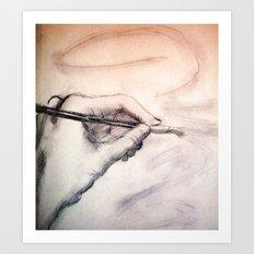Self Reflection Art Print