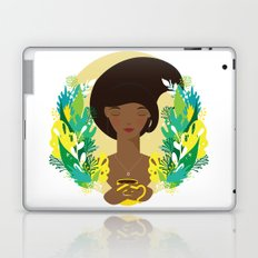 That first cup of coffee feeling Laptop & iPad Skin