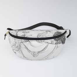 Nevermore Fanny Pack